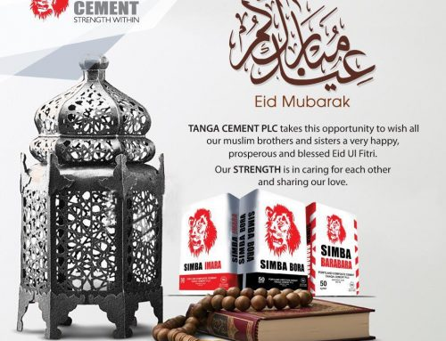 Eid Mubarak TANGA CEMENT PLC takes  this opportunity to wish all our muslim